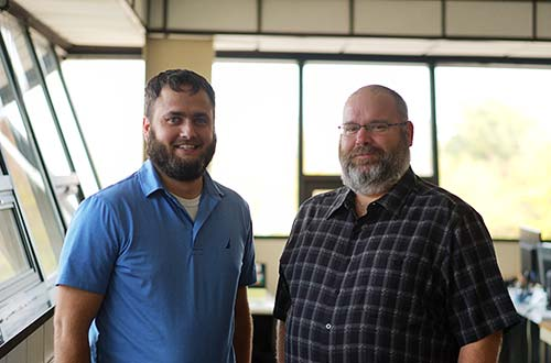 Michael Baker and Ben Westhoff - Thompson Trucking Dispatchers - Quincy IL