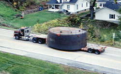 Oversized Load Tank with Top Rails