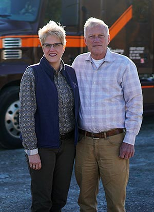 Ron and Julie - Thompson Trucking - Quincy, IL