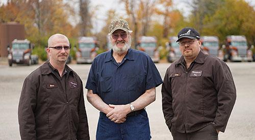 Thompson Truck Shop Employees