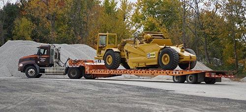 Heavy Equipment Hauling