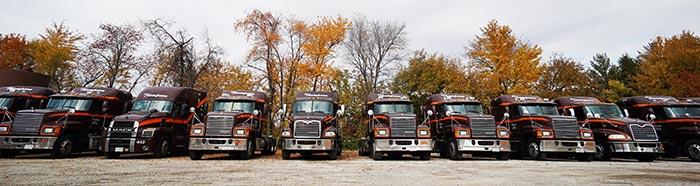 Thompson Trucking Fleet - Quincy IL